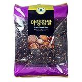 ROM AMERICA (4 Pound) Black Sweet Rice Sticky Rice Glutinous Rice 야생찹쌀