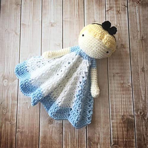 Snow White Inspired Lovey// Security Blanket// Soft Toy Doll// Plush Doll// Stuffed Toy Doll// Amigurumi Doll// Baby Doll MADE TO ORDER