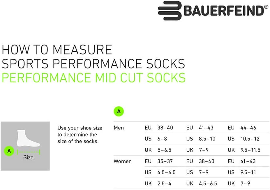 BAUERFEIND Run Performance Chaussettes Mens