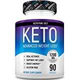 Keto Pure Diet Pills - Ketogenic Diet Supplement - Boost Energy and Metabolism - Keto Slim Supplement for Men and Women - 90 Capsules
