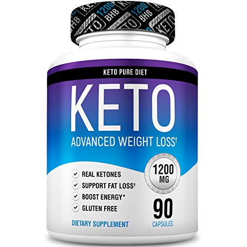 Keto Pure Diet Pills - Ketogenic Diet Supplement - Boost Energy and Metabolism - Keto Slim Supplement for Men and Women - 90 Capsules by Keto Pure Diet (Image #8)