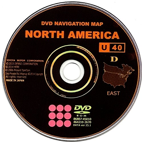New 2014 Genuine OEM Generation 5 Lexus Navigation Update DVD, (14.1) (Lexus Dvd)