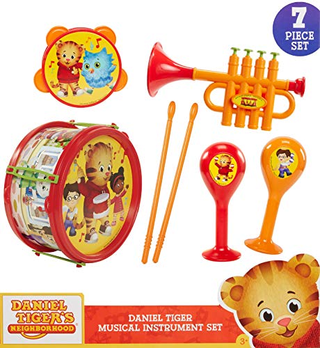 Daniel Tiger's Neighborhood Musical Instrument Playset, Multicolor]()