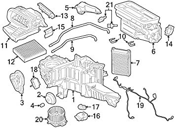 Ford FL3Z-18472-F Genuine Hose Heater Water