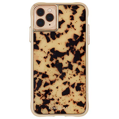 Case-Mate - iPhone 11 Pro Case - Acetate - Eco Friendly - Lightweight - 5.8 - Tortoise Shell