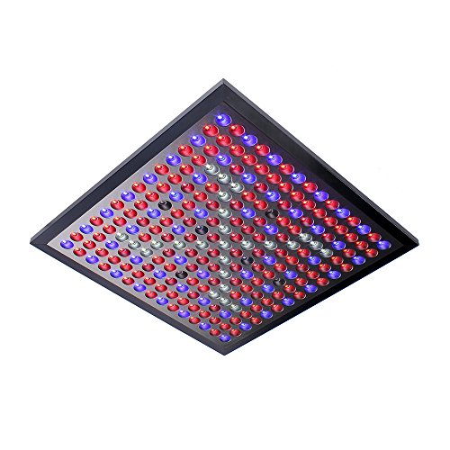 Super Thin And Light Led Plant Grow Lights Full Spectrum For Indoor Plants Garden Greenhouse 45W 225LEDs Six Color Lights Bulbs For Seedlings