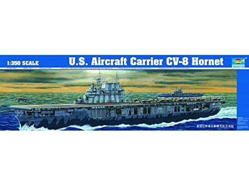 Trumpeter 1/350 USS Hornet CV8 Aircraft Carrier Model Kit