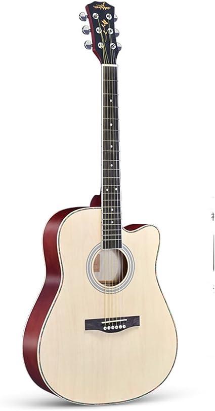 Guitarra acústica, Retro Abeto Cuerdas de acero, Principiantes ...