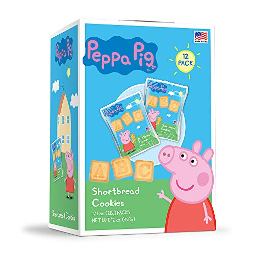 Peppa Pig Cookies, Candy and Medals Birthday Party Supply Pack for 12 Guests ()