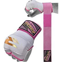 RDX Ladies Gel Inner Hand Wraps Gloves Boxing Fist Pink Bandages MMA Women