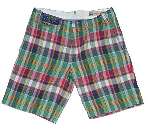 Polo Ralph Lauren Mens India Madras Plaid Shorts (Madras RW, - India Lauren Polo Ralph