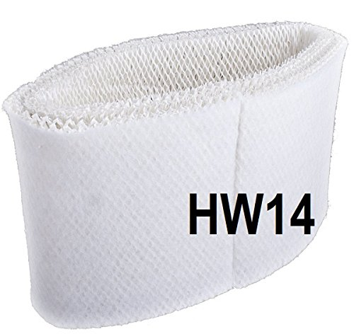 BestAir HW14 Honeywell Holmes Bionaire REplacement Wick / Filter - Quantity 12