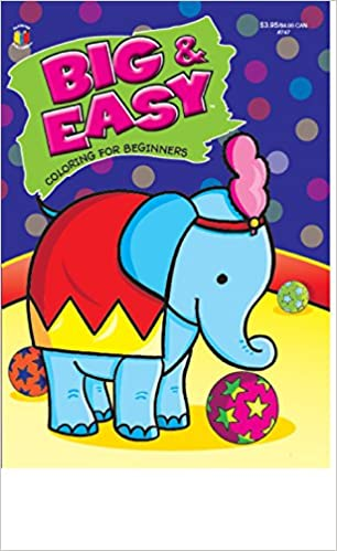Big & Easy Coloring for Beginners: Kappa Books Publishers ...