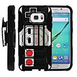 MINITURTLE Case Compatible w/ Case for Samsung Galaxy S7 |[Armor Reloaded] Rugged Impact Hard Rubber Durable Unique Creative Cover + Belt Clip , [S7 Holster Case] Game Controller Review