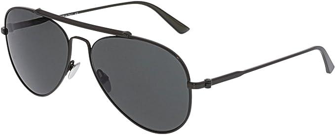 Calvin Klein - Gafas de sol - para hombre Plateado Matt Gun ...