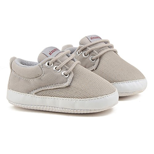 Pictures of OOSAKU Baby Breathable Mesh Sneakers Lace up 7