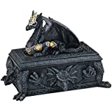 George S. Chen Imports SS-G-71298 Dragon Trinket Box Collectible Fantasy Container Decoration Figurine
