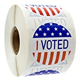I Voted Stickers/500 Election Voting Stickers