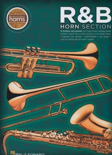 R&b Horn Section - Transcribed Horns R&B Horn Section Bk by VARIOUS (15-Feb-2011) Paperback