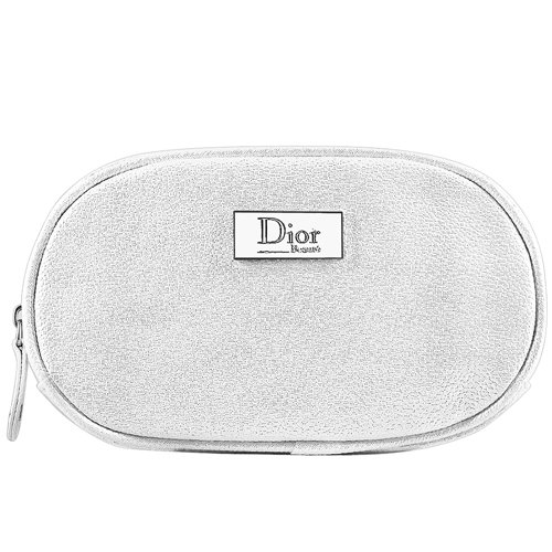 Dior Bling White MAKEUP COSMETIC BAG
