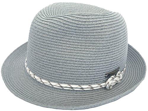 213775c7 Christys Stiltsville Paper Braid Fedora Knot Band Summer Trilby  (Small/Medium / 57cm,