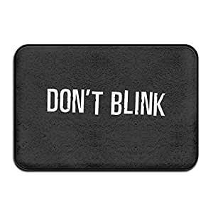 MIOPAIGE Doctor Who Logo Non Slip Personalized Doormat/Area Rugs