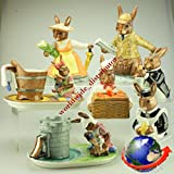 Bunnykins by Royal Doulton COUNTRY MANOR 7 PIECE TEA / COFFEE SET LIMITED EDITION No 123 Made In England