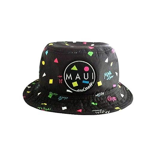 e45513a2e63 Neff Womens Maui Bucket Hat One Size Black at Amazon Women s ...