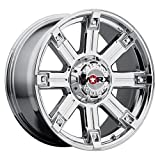 Worx 806V Triton Silver Wheel with Ultra PVD Finish  (18x9''/5x4.5mm, +12 mm offset)