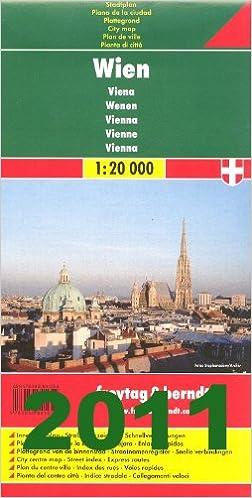 bécs térkép Bécs, térkép =: Wien, Plan = Vienna, map = Vienne, carte