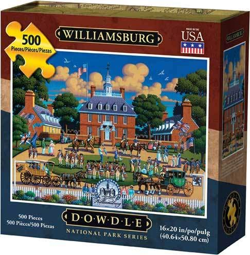 Dowdle Jigsaw Puzzle - Williamsburg National Historic Park - 500 Piece