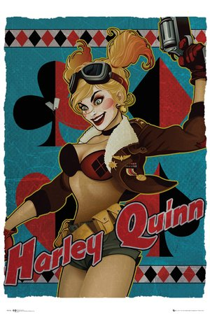 Image Unavailable. Image not available for. Color  Dc Comics Harley Quinn  Comic Poster d6cc6a1850