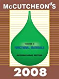 Mccutcheon's 2008 Functional Materials : International Edition, Michael Allured, 1933430303