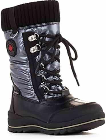 reputable site 360cb cac4e Cougar Girls Como Waterproof Winter Boot