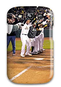 OGkCBJQ4bNoZf Tpu Phone Case With Fashionable Look For Galaxy S3 - Oakland Athletics