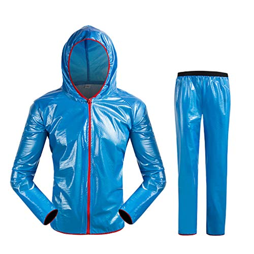 Foncircle ✶ Piece Cycling Rain Jacket ✶ Cycling Jersey Wind Rain Coat Windproof Waterproof Bike Bicycle Jacket
