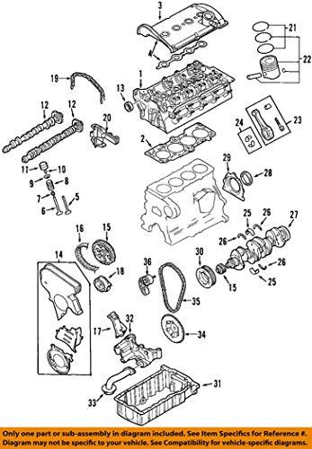 Volkswagen 026 105 635 A, Engine Crankshaft Thrust Washer
