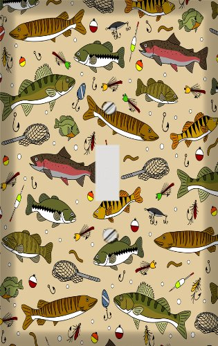 Gone Fishing Switchplate - Switch Plate -