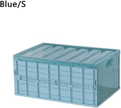 Plástico plegable Caja de almacenamiento Caja plegable Caja de almacenamiento Apilable Garaje en el hogar Almacén Escritorio Caja de almacenamiento Car Underwear Organizer: Amazon.es: Bricolaje y herramientas