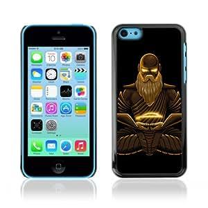 Designer Depo Hard Protection Case for Apple iPhone 5C / Cool Fantasy Buddha Warrior