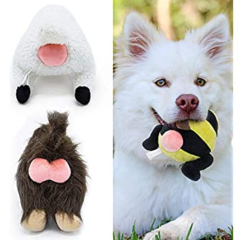Pet Supplies : FRANKIEZHOU Dog Squeaky Toys Stuffed Plush