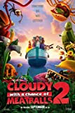 Cloudy with a Chance of Meatballs 2 - 27x40 Original D/S Movie Poster