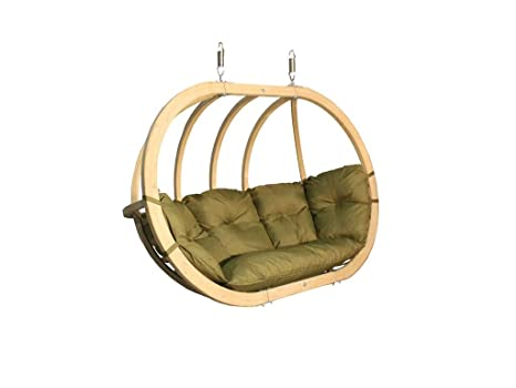 Silla Hamaca de Madera Swing Chair Double (2) (Pistachio ...
