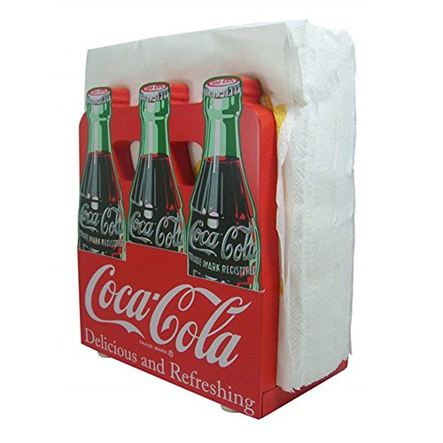 Coca-Cola 6 Pack Napkin Holder