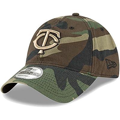 Minnesota Twins New Era Core Classic Twill 9TWENTY Adjustable Hat Camo
