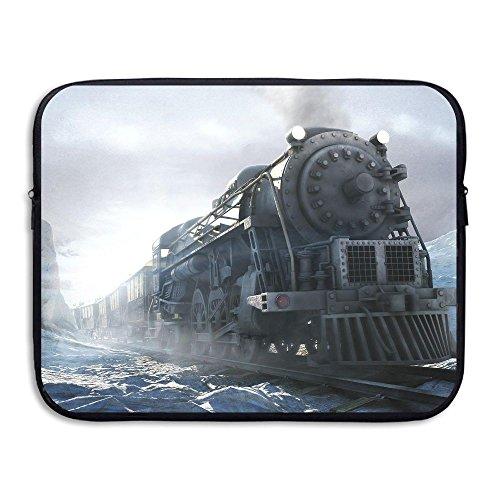 Jingclor Business Briefcase Sleeve Steam Engine Train Art Laptop Sleeve Case Cover Handbag For 13 Inch Macbook Pro/Macbook Air/Asus/Dell/Lenovo/Hp/Samsung/Sony/Women & Men - Hewlett Packard Engine