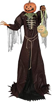 Home Accents Holiday 7 ft. Towering Jack O Man