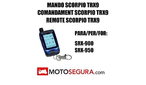Mando Alarma Scorpio SR-i900 SRX-900 SRX-950: Amazon.es ...