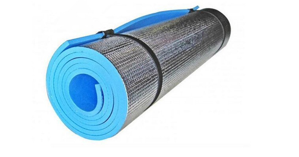 Ice Store 71'' x 23.6'' x 3/8 Outdoor Thermal Closed Cell Camping Sleeping Pad with Straps