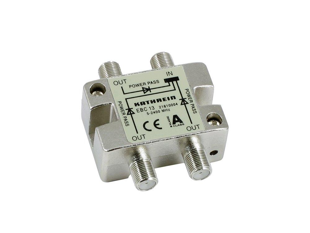 Kathrein EBC13 - Divisor de señal para cable coaxial (1 entrada y 3 ...